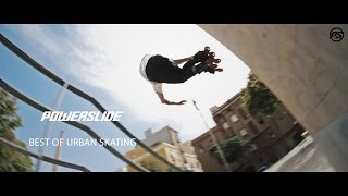 Best of URBAN Skating - POWERSLIDE Inline Skates - Team Freeskate / Freeride Compilation 2016