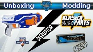 Nerf N-Strike Elite Disruptor Unboxing / Modding