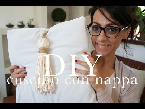 cuscino con nappe | DIY | AnnalisaSuperStar
