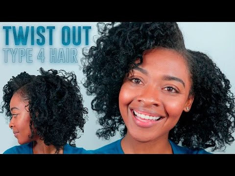 Twist Out On Type 4 Hair Natural Hairstyles For Black Women