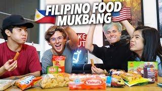 TRY FILIPINO FOOD! | Ranz and Niana
