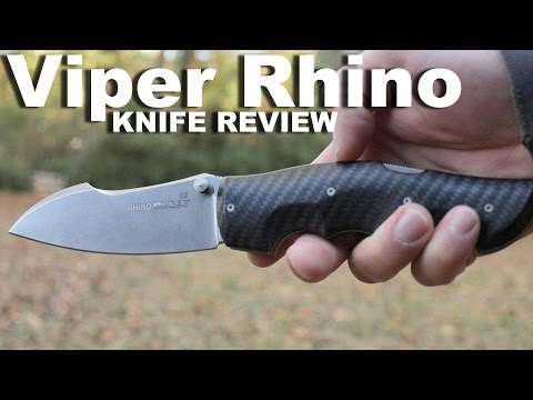 The Viper Rhino Folding Knife Review.   An Italian Made WorldStar of Pocket Knives.