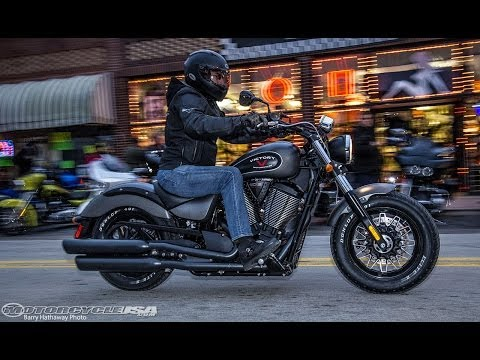 2015 Victory Gunner First Ride - MotoUSA