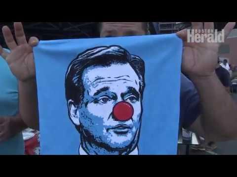Patriots fans clown Roger Goodell