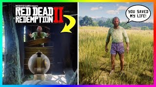 Can You Save The Man Stuck In A Treehouse In Red Dead Redemption 2? (RDR2 SECRET Encounter)