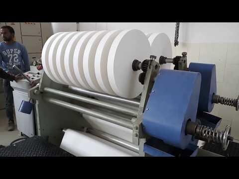 High Speed Slitting Rewinding Machine