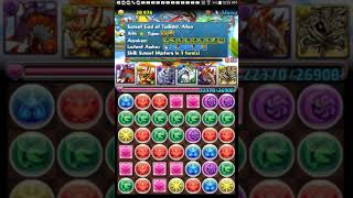 July 10, 2018: Puzzle and dragons Santa Claus descended part 1