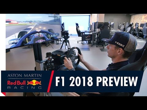 Max Verstappen tests out F1 2018 with a lap of Silverstone