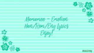 Mamamoo - Emotion