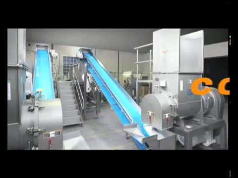 Ancillary Continuous Cooking Equipment - GoldPeg™ Hygienic Belt Conveyor