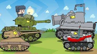 Мультики про танки - Три мини серии