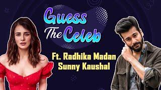 Radhika Madan & Sunny Kaushal's HILARIOUS imitation of Vicky Kaushal, Katrina Kaif | Guess the Celeb