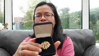 เมียฝรั่งดวงเฮงซื้อ แหวนทองคำราคาถูกมากจากตลาดนัดที่ อังกฤษ