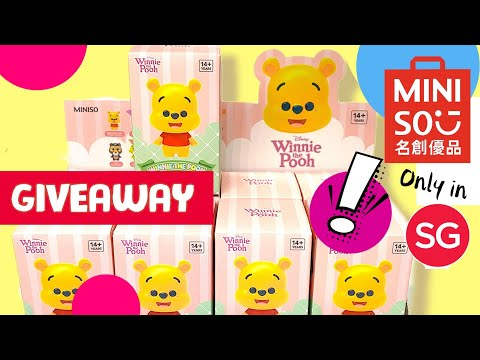#GIVEAWAY #Miniso #Winnie the Pooh blind box [Preview] #shorts
