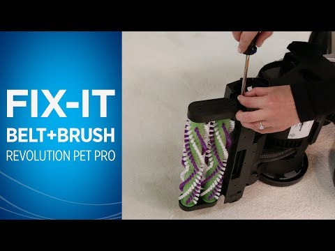 ProHeat 2X® Revolution™ Pet Pro Changing Belts Video