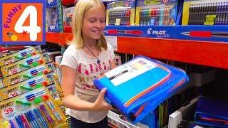 Покупки к школе в Костко в США / Покупаем школьные приналдежности / Покупки канцелярии к школе