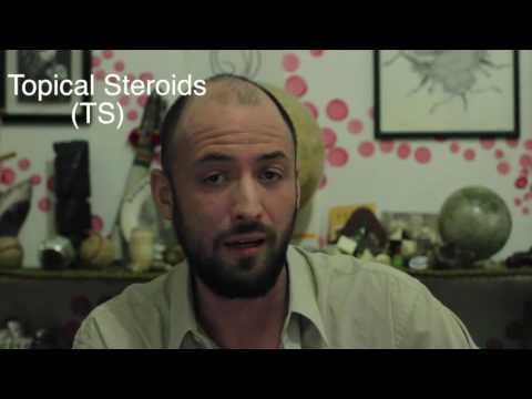 El tratamiento de la psoriasis-punteada