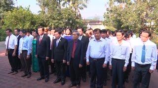 Quảng Nam dâng hương kỷ niệm 70 năm Ngày mất cụ Huỳnh Thúc Kháng
