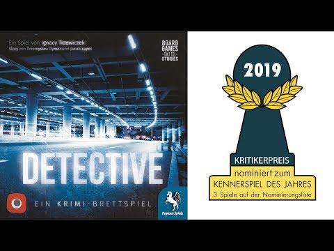 Spieletrailer Detective – Ein Krimi-Brettspiel - Vorschaubild