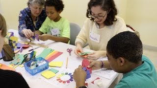 UD Volunteers Teach Educational Crafts To Salvation Army