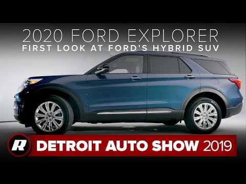 Google News 2020 Ford Explorer St And Hybrid Revealed Overview