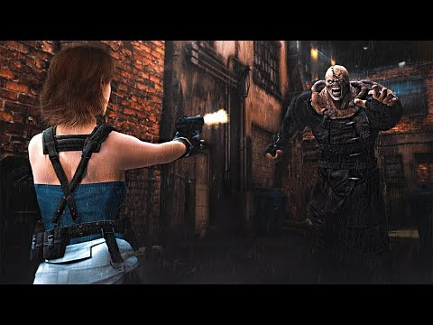 Resident Evil 3 Remake - NEW Full Gameplay Walkthrough Nemesis Boss Fight