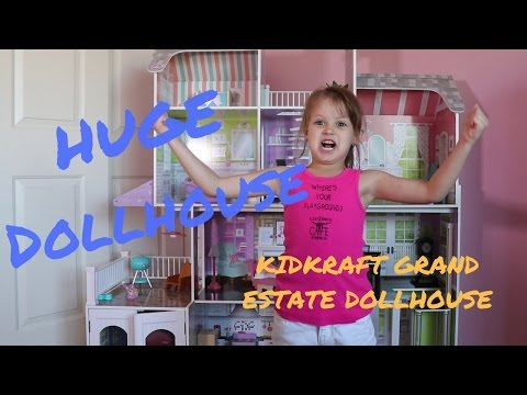 KidKraft Grand Estate Dollhouse - Huge Dollhouse