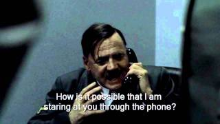 Hitler phones the angry cat man