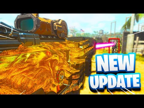 NEW BLACK OPS 4 UPDATE is ONE SHOT.. (Free DLC Weapons!) - COD BO4