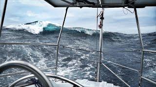 Biggest Waves We've Ever Seen — DAY 10 / North Atlantic Crossing — Sailing Uma [Step 192.10]