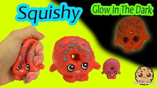 DIY Glow In The Dark Squishy Shopkins Season 1 Donut Inspired Craft Do It Yourself by Cookieswirlc