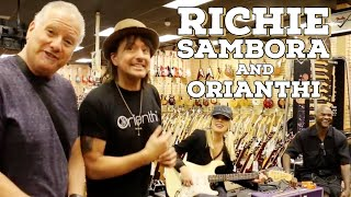 <b>Richie Sambora</b> And Orianthi Shops At Normans Rare Guitars