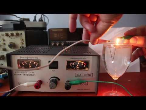 Bogenlampe und interessante Versuche