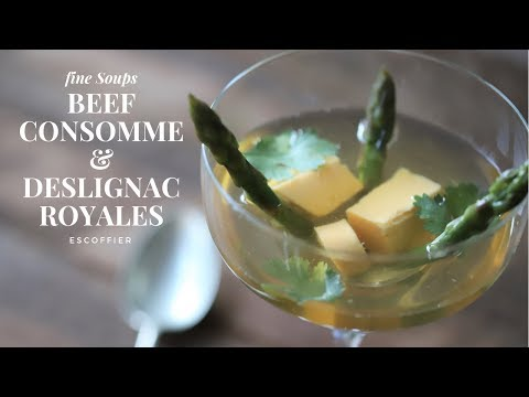 How to clarify a Broth and make a consomme at home : Tutorial