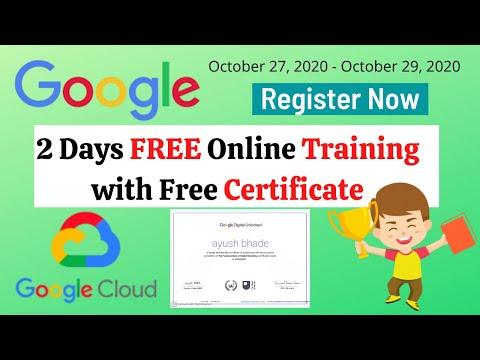 Google Free Online Training Course | Google Free ... - YouTube