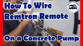 concrete pump remote control remtron pump boss free installation rh livequipment com
