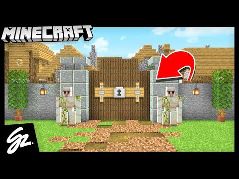 How To Defend A Village! - Minecraft 1.14 Let's Play