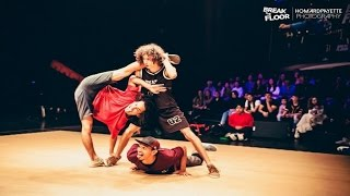 Break The Floor 2017 | 1/4 finale Gamblerz crew VS Nois na cena
