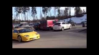preview picture of video 'Lamborghini Diablo in Espoo, Finland'
