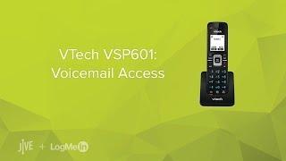 VTech VSP601 -- How do I check my voicemail?