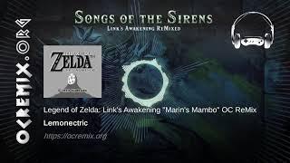 """Zelda: Link's Awakening OC ReMix by Lemonectric: """"Marin's Mambo"""" [Manbo's Mambo, Credits] (#3981)"""