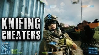 Battlefield 3 Knifing Cheaters