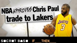 If the NBA let Chris Paul get traded to the Lakers, James Harden wouldn't be a Rocket thumbnail