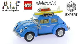 Lego Creator 10252 Volkswagen Beetle - Lego Speed Build Review