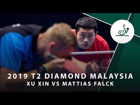 Xu Xin vs Mattias Falck | T2 Diamond Malaysia (QF)