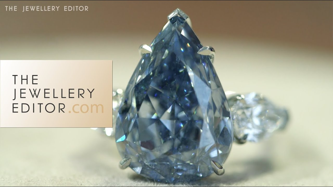 Largest Vivid Blue Diamond