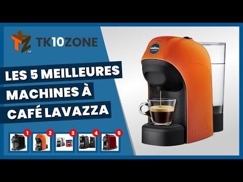 Les 5 meilleures machines à café Lavazza