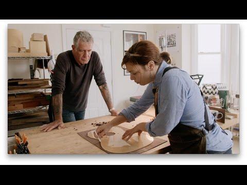 Raw Craft with Anthony Bourdain - Episode Nine: Rachel Rosenkrantz