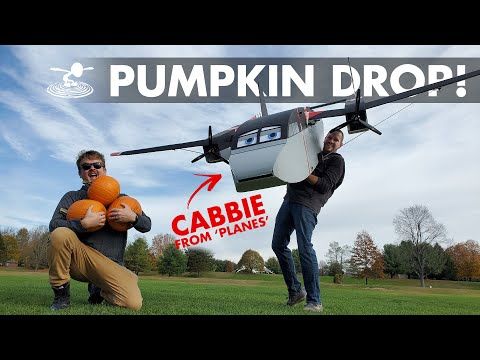 dropping-pumpkins-from-a-giant-rc-plane-