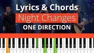 One Direction   Night Changes  (Chords & Lyrics) 100%